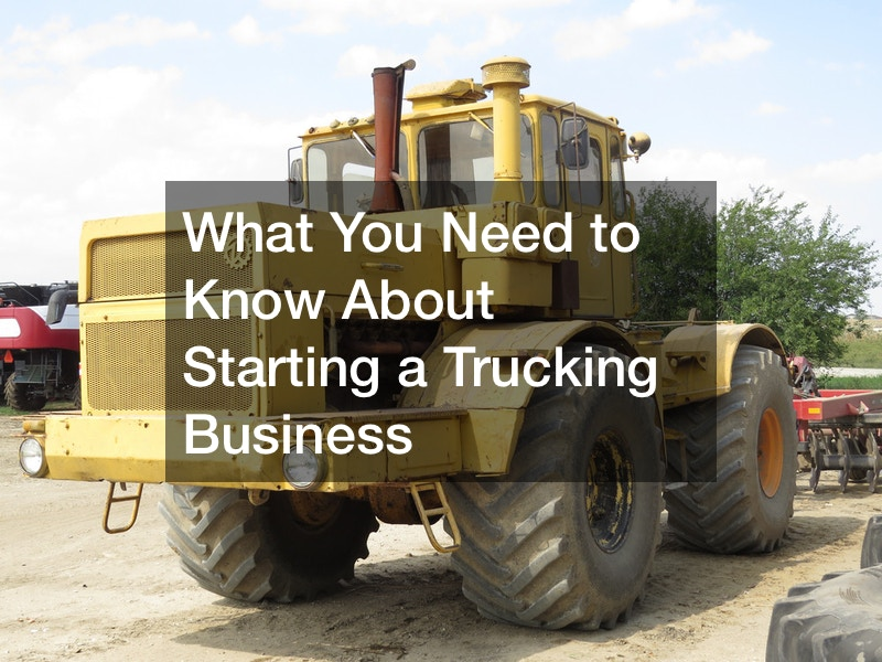 is starting a trucking business a good idea
